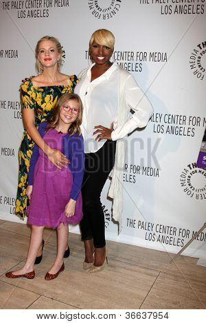 LOS ANGELES - SEP 5:  Georgia King, Bebe Wood and NeNe Leakes arrives at