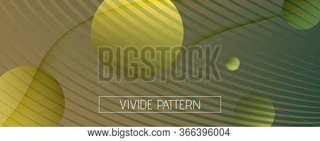 Green Landing Page Design. 3d Fluid Shape Brochure. Vector Creative Movement. Camouflage Geometric T