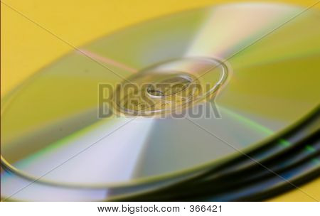 Compact Disk Pile