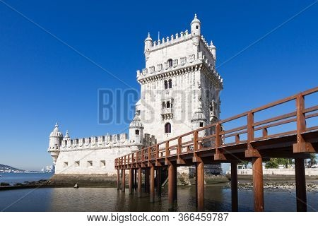Belem Tower (portuguese: Torre De Belem) Or The Tower Of St Vincent Is A Fortified Tower Located In