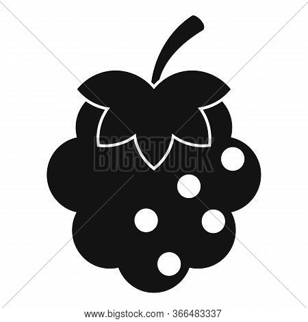 Blackberry Icon. Simple Illustration Of Blackberry Vector Icon For Web Design Isolated On White Back