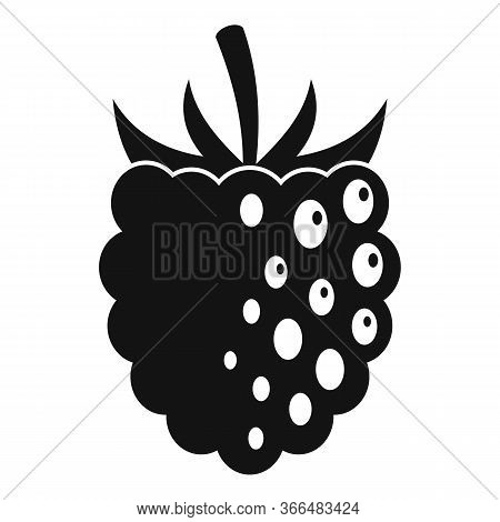 Fresh Blackberry Icon. Simple Illustration Of Fresh Blackberry Vector Icon For Web Design Isolated O