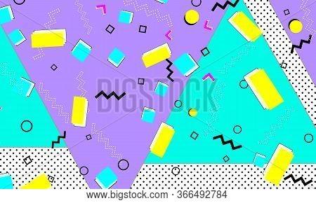Retro Ultramarine Art. Purple Color Wallpaper. Funky Texture. Lemon Fashion. Bright Flyer. Lilac Gru