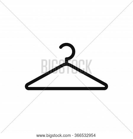 Hanger Icon Isolated On White Background. Hanger Icon In Trendy Design Style. Hanger Vector Icon Mod