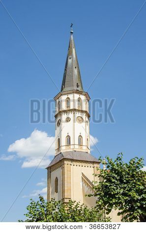 Levoca, Slovakia - St. James Church - tower