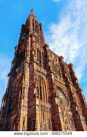 Strasbourg Cathedral In Strasbourg, France