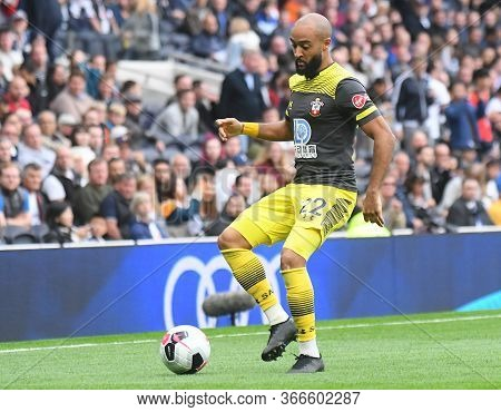 London, England - September 28, 2019: Nathan Redmond Of Southampton Pictured During The 2019/20 Prem