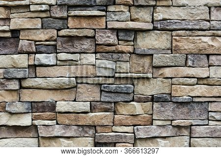 The Stone Wall Texture Background Natural Color.background Of Stone Wall Texture Photo.natural Stone