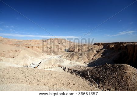Valley of Kings and the tempel of Hatchepsut
