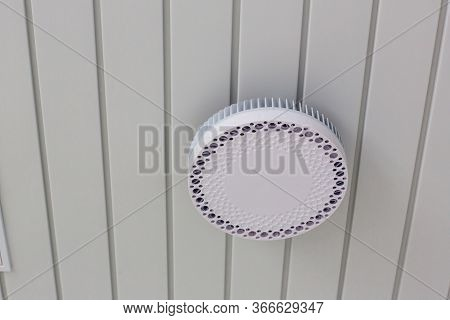 Ceiling Access Point Wifi. Wireless Router For Network,hang On The Ceiling. World Wide Network Techn