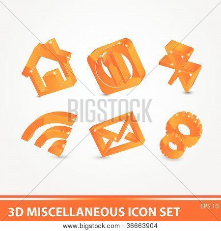 3D Icon Set