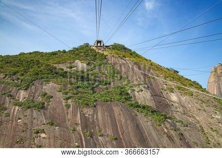 Famous Sugar Loaf mountain in Rio de Janeiro, Brazil