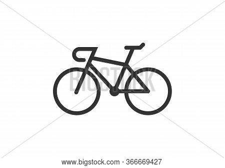 Man Cycling Vector Icon Flat Style Illustration For Web, Mobile, Logo, Application And Graphic Desig
