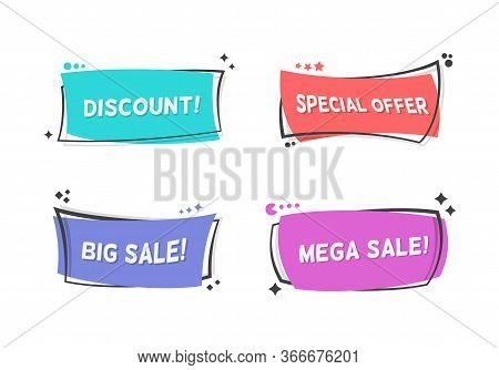 Wholesale Purchase Flat Banners Collection. Modern Sale, Promo Special Offer And Discount Templates