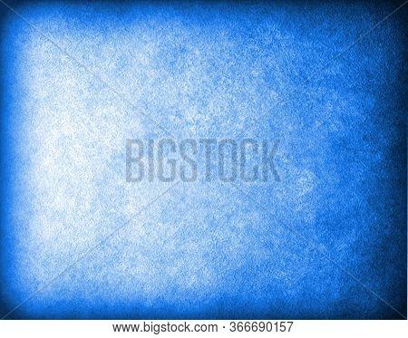 Translucent Blue Background. Vintage Grunge Background. Transparent Background.