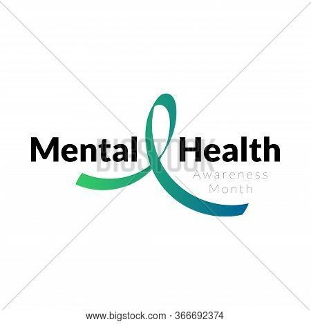 Mental Health Awareness Month In May. Annual Campaign In United States. Raising Awareness Of Mental
