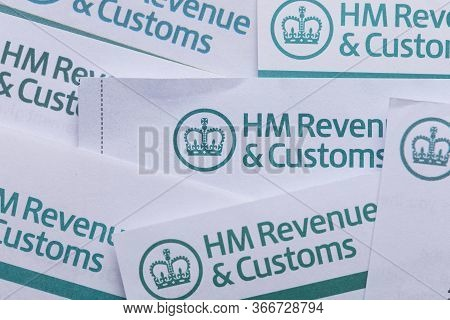 London, Uk - Jan 24th 2019: Hmrc Her Majestys Revenue And Customs Tax Paperwork