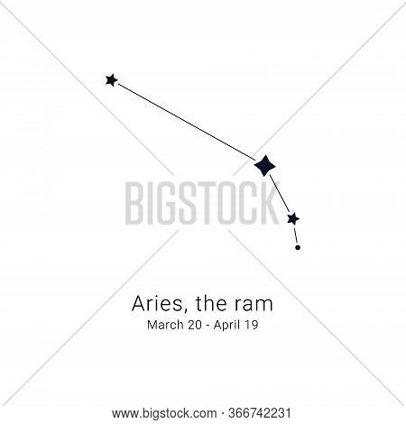 Aries, The Ram. Constellation And The Date Of Birth Range