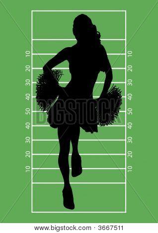Football Cheerleader 1
