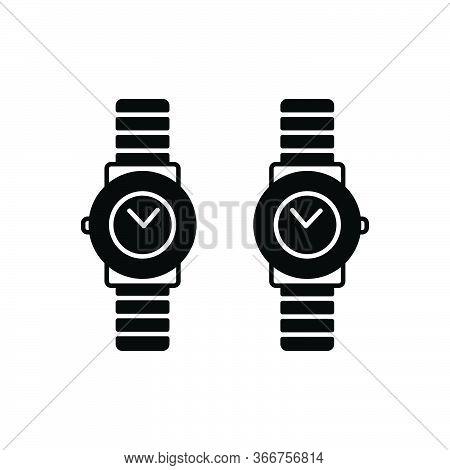Black Solid Icon For Brand-design  Brand Design Wrist-watch Branding