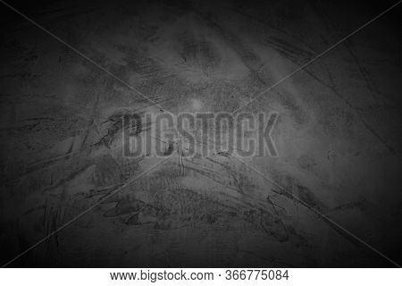 Cement Wall Background Abstract, Gray Concrete Texture For Interior Design, White Grunge Cement Pain