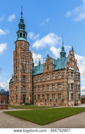 Rosenborg Palace Is A Renaissance Castle Located In Copenhagen, Denmark.