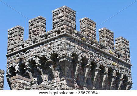 The Castle of Torre Alfina. Lazio. Italy.