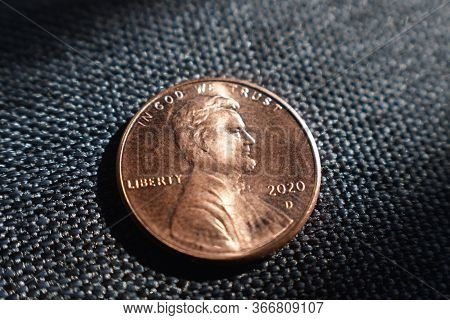American 2020 Penny Macro Close Up High Quality
