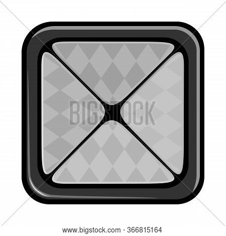 Vector Illustration Of Eyeshadow And Palette Icon. Graphic Of Eyeshadow And Shadow Stock Vector Illu