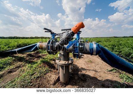 Drip Irrigation System. Water Saving Drip Irrigation System