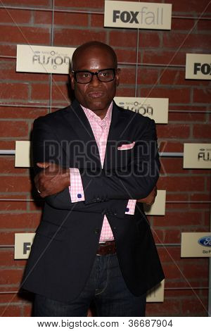 LOS ANGELES - SEP 10:  L.A. Reid arrives at the FOX Eco-Casino Party 2012 at Bookbindery on September 10, 2012 in Culver City, CA