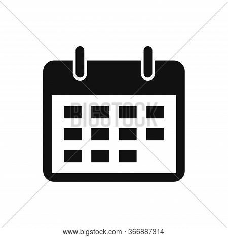 Calendar Icon Isolated On White Background. Calendar Icon In Trendy Design Style. Calendar Vector Ic