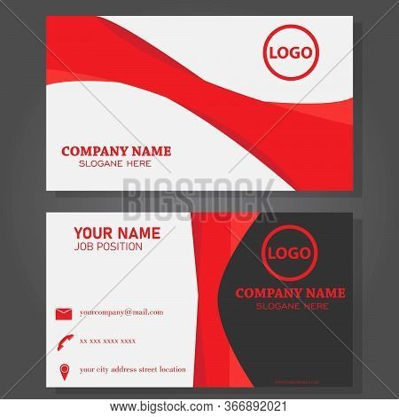 Modern And Luxury Business Card Template Design