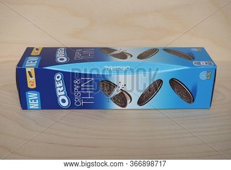 East Hanover - May 2020: Oreo Biscuits Packet