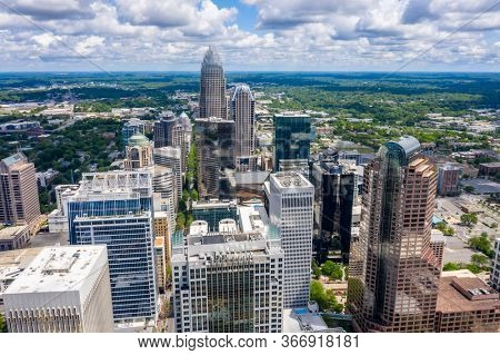 April 26, 2020 - Charlotte, North Carolina, USA: Charlotte is the most populous city in the U.S. state of North Carolina. Located in the Piedmont, it is the 16th-most populous city in the USA.