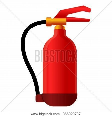 Safety Equipment Fire Icon. Cartoon Of Safety Equipment Fire Vector Icon For Web Design Isolated On