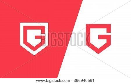 G Logo . Letter G Logo Design . G Icon . Letter G In The Shield . Modern Design . Creative Logo Desi