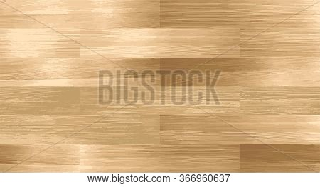 Realistic Wood Textured Seamless Pattern. Wooden Board, Natural Brown Floor Or Wall Repeat Texture.