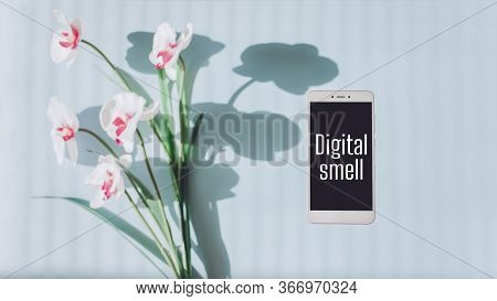 Digital Smell Scent Technology. Fragrance Research, Future Of Smell, Transmit Odors In Online, Augme