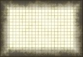 Antique and Old Grunge Graph Paper with Grids poster