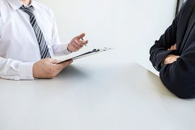 Business Interview Consider And Asking Candidate Questions A Resume Conversation During About Profil
