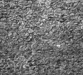 Texture Of Old Rock Wall For Background.
