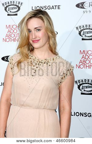 LOS ANGELES - JUN 5:  Ashley Johnson arrives at the