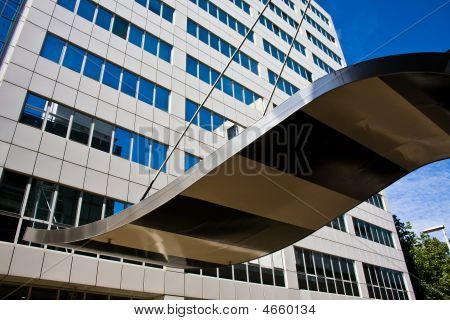 Office Tower In Rotterdam