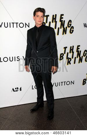 LOS ANGELES - JUN 4:  Israel Broussard arrivesa at the