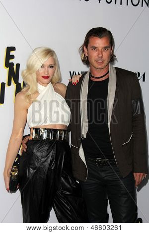 """LOS ANGELES - JUN 4:  Gwen Stefani, Gavin Rossdale arrivesa at the """"The Bling Ring"""" Los Angeles Premiere at the DGA Theater on June 4, 2013 in Los Angeles, CA"""