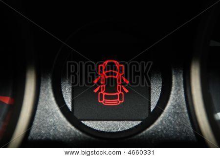 Car Interior Warning Light