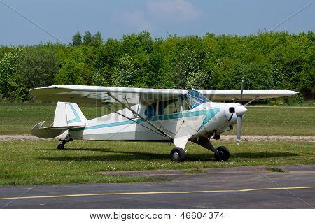 Small Vintage Airplane