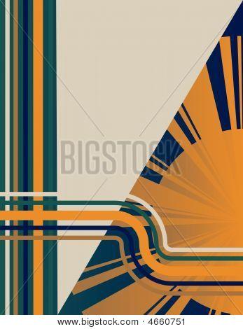 Art Deco Sunburst Background