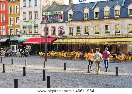Place Dalton In Boulogne-sur-mer, France